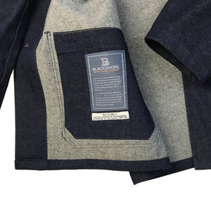 Chore Jacket in 14oz Denim, Handmade in Southwold