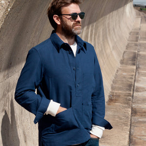 The Longshore Craft Overshirt (Unisex) - blackshore