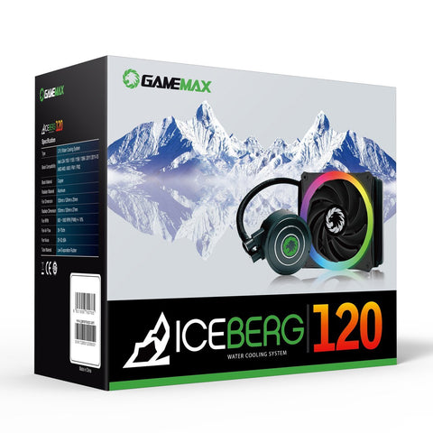 Game Max Iceberg 120mm RGB Liquid Cooling System