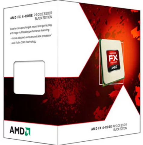 AMD FX 4300 X4 (Skt AM3+) Retail Kit (Including Heat Sink+Fan) 3.8 GHz