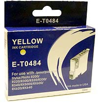 Epson E-T0 484 Yellow Single Cartridge