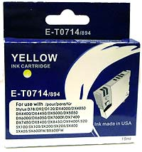 Epson E-T0 714 Yellow Single Cartridge