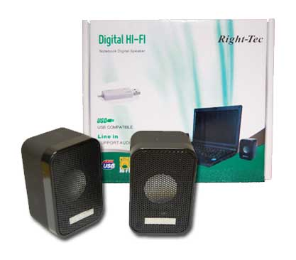 Right-Tec Portable USB Speaker