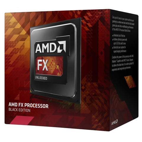 AMD FX 6300 X6 (Skt AM3+) Retail Kit (Including Heat Sink+Fan) 3.5GHz