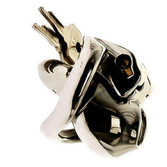 HTV3 Steel chastity cage holy trainer