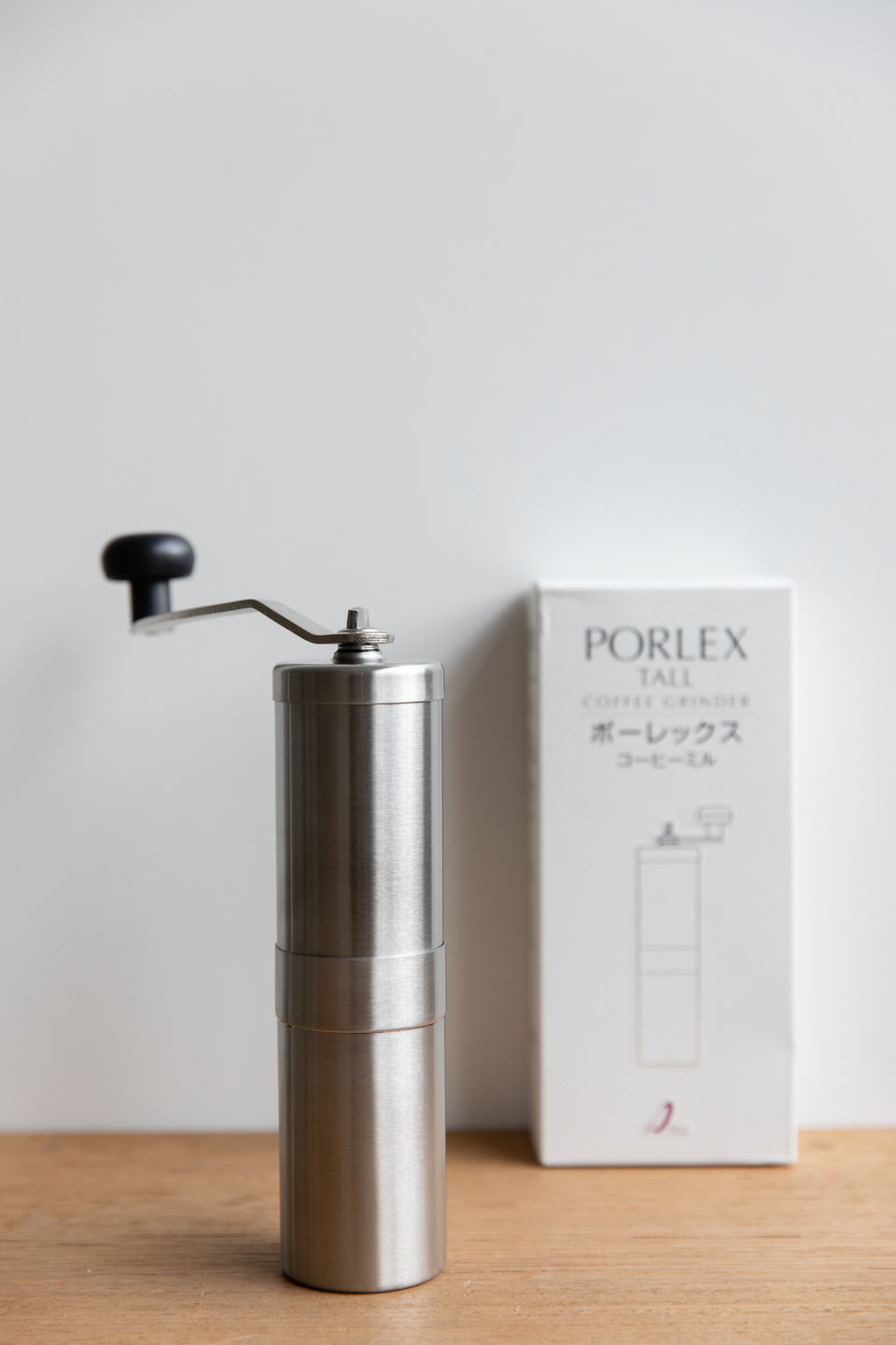 Stainless steel coffee hand grinder