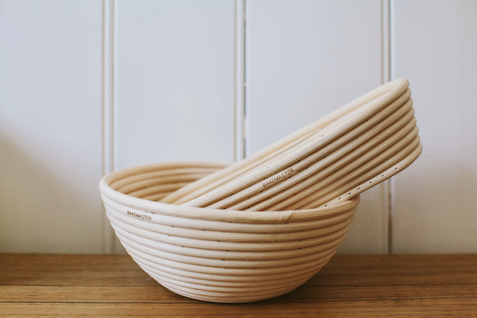 Rattan Proving Baskets
