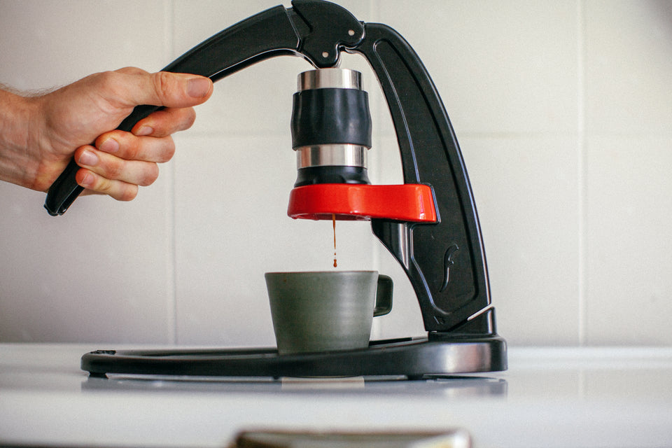 Hand-press Espresso Machine: No-Electricity
