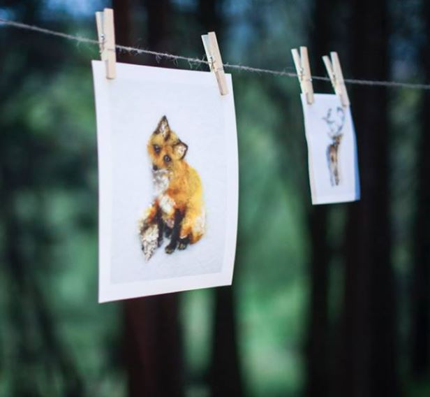 Fox Cub Art Gifts