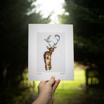 So Deer to me Art Print