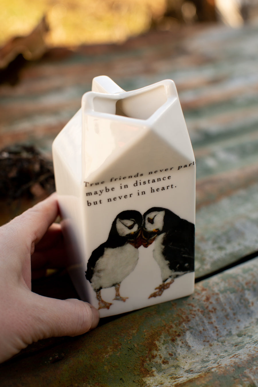 Puffin mugs and jugs