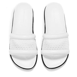 Alexander Wang Jac Mesh Leather Sandal Slides US 9