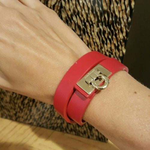 Salvatore Ferragamo Double Wrap Bracelet