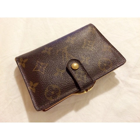 Louis Vuitton Monogram Kisslock Wallet
