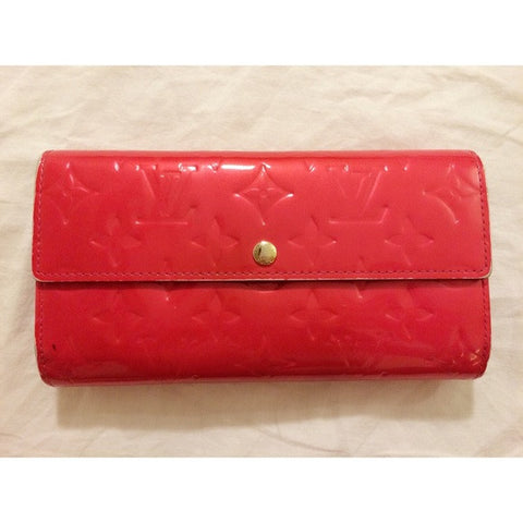 Louis Vuitton Hot Pink Vernis Wallet