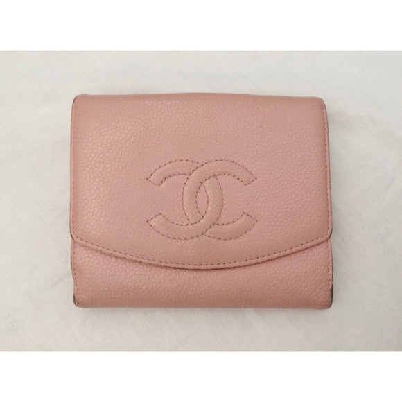 Chanel Caviar Leather Wallet