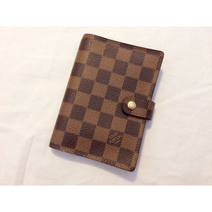 Louis Vuitton Damier Ebene Agenda Cover