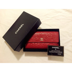 0d1e8037282a Chanel Camellia Wallet – After Luxe
