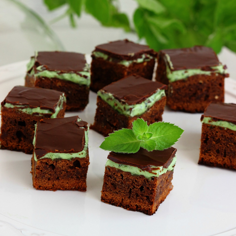 Mint Avocado Brownies
