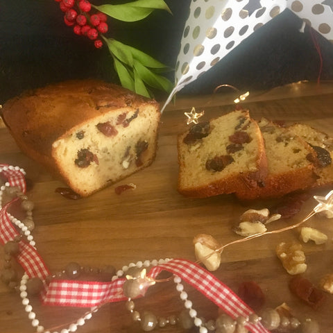 Walnut & Cranberry Cake Loaf