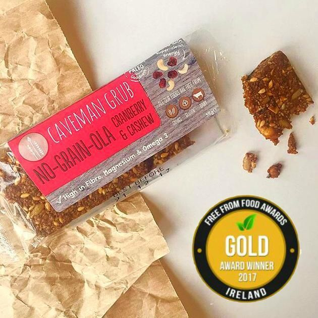 Cranberry & Cashew No-Grain-Ola Bar Bars