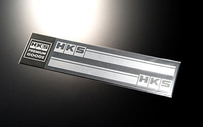 HKS STICKER stripe SILVER