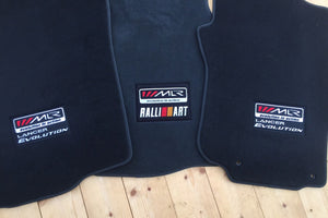 MLR / Lancer Evolution Floor Mats - Charcoal