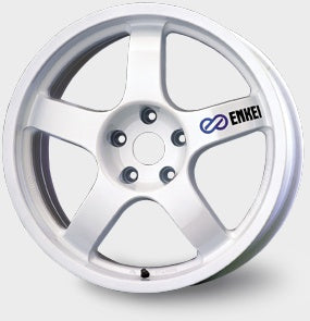 Large Enkei Wheel Decals - Set of 4
