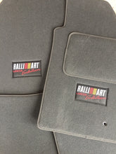 Ralliart Lancer Evolution Floor Mats - BLACK