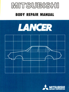 Lancer 2000 Turbo - Body Repair Manual
