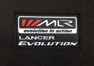 MLR / Lancer Evolution Floor Mats - Black