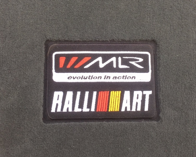 MLR / Ralliart Floor Mats - Charcoal