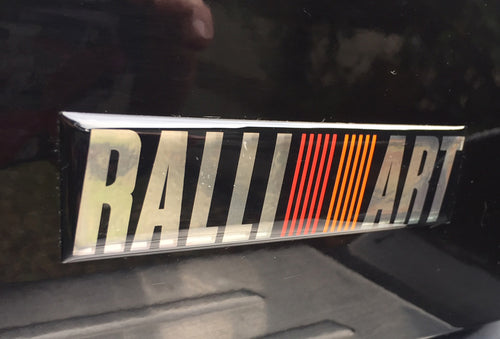 Ralliart Dome Badge