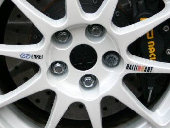 Replacement TME Wheel Stickers - Enkei & Ralliart