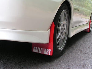 Evo Mudflap Set with RALLIART Logos  (4mm PVC)