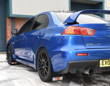 Evo Mudflap Set with RALLIART Logos  (K-Polyurethane - Lifetime Guarantee)