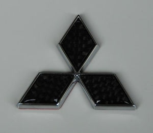 Rexpeed Mitsubishi Diamond emblem (black) 5x5