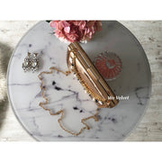 Poet clutch rose gold piele eco Bailey
