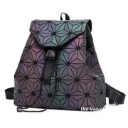 Rucsac fosforescent geometric piele eco Henry
