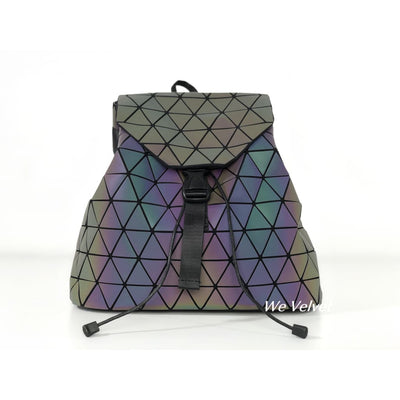 Rucsac fosforescent geometric piele eco Marion