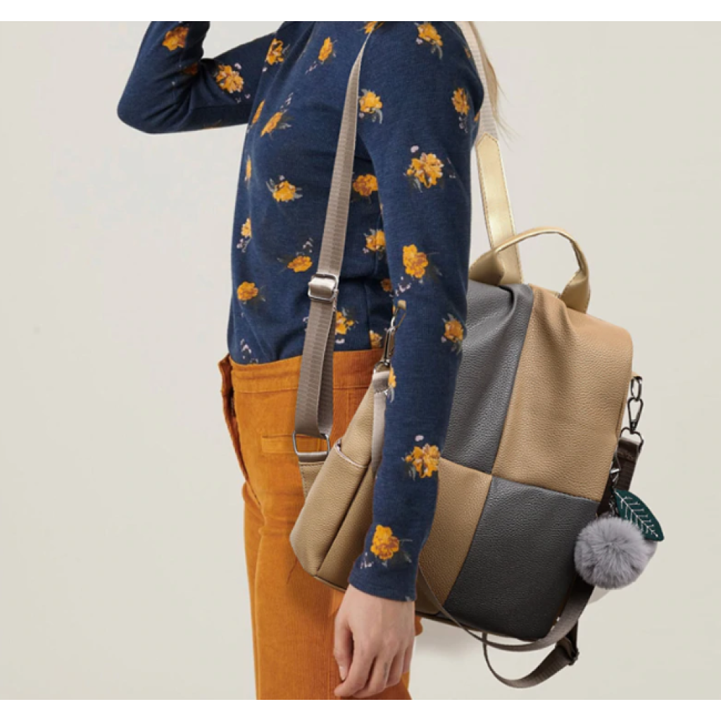 Rucsac nude piele eco Chess