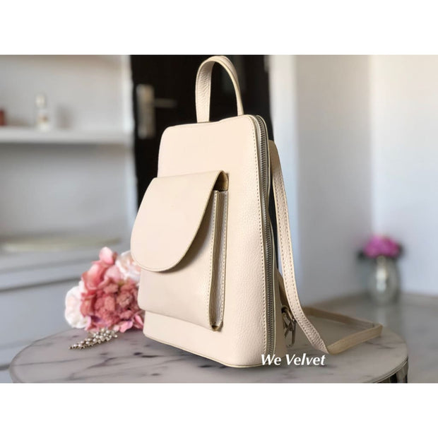 Rucsac nude piele natural tip geant Alexander