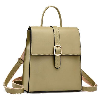 Rucsac olive green piele eco tip geantă Bliss