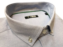 FNGR Mens Dress Shirt - Light Blue