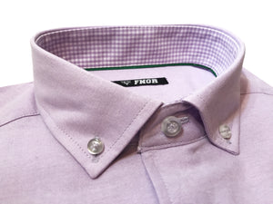 FNGR Mens Dress Shirt - Lilac