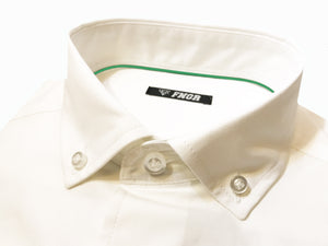 FNGR Mens Dress Shirt - Crisp White