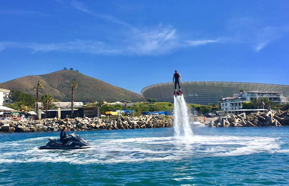 FNGR  FLYBOARD  EXPERIENCE  - CAPE TOWN
