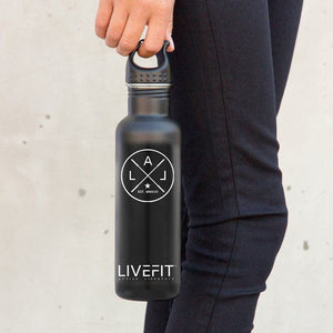 LIVEFIT™ Stainless Steel Prestige Water Bottle
