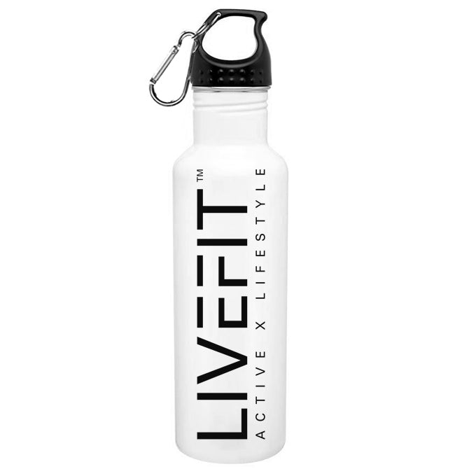 LIVEFIT™ Stainless Steel Classic Water Bottle