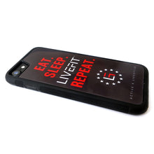 LIVEFIT™ EAT SLEEP REPEAT iPhone Case